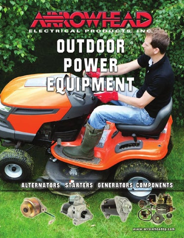 Arrowhead Electrical Products Outdoor Power Equipment Catalog 2013 on wiring diagram riding mower, wiring diagram toro z master, wiring diagram cub cadet zero turn,
