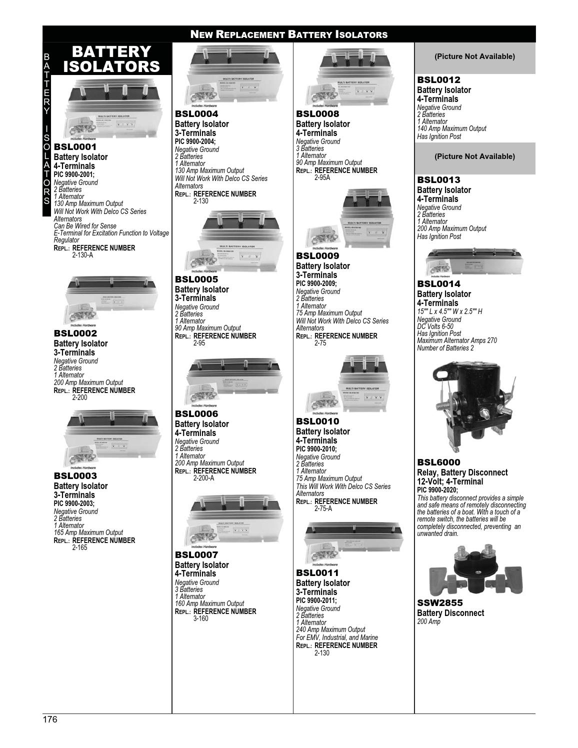 Marine By Arrowhead Electrical Products Issuu How Does A Battery Isolator Work
