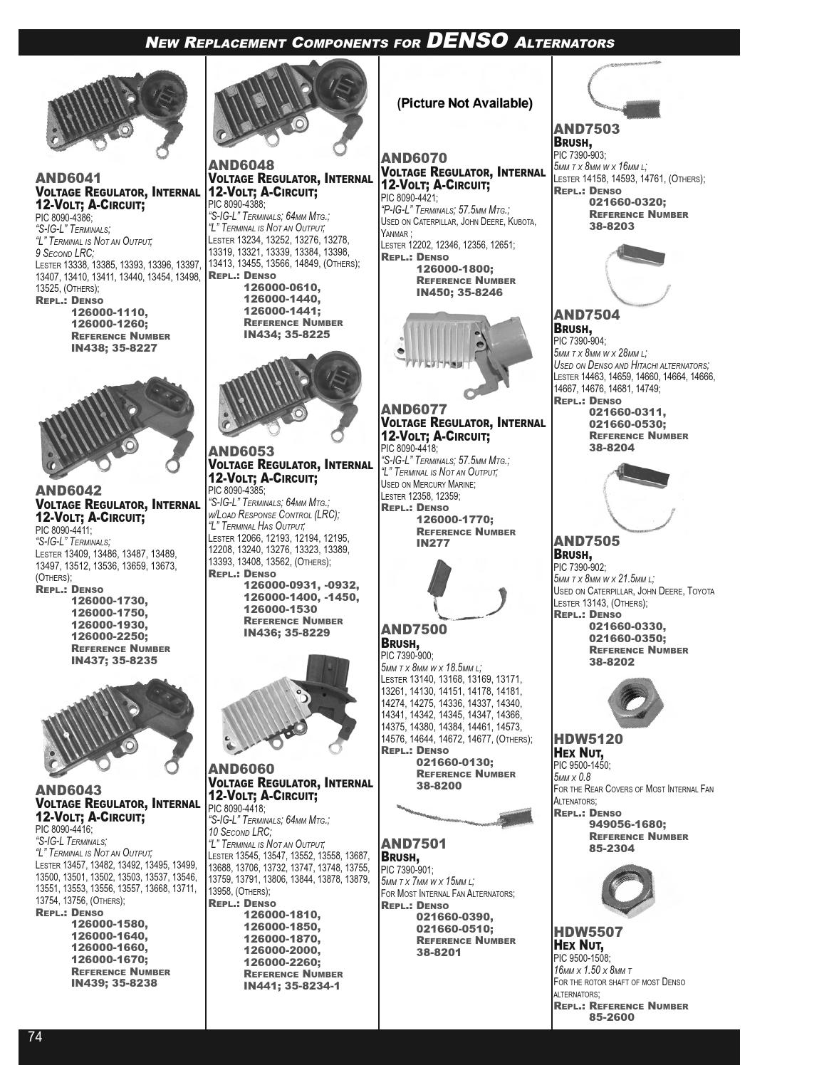 arrowhead electrical products master components catalog by simple alternator wiring diagram denso alternator wiring diagram mopar