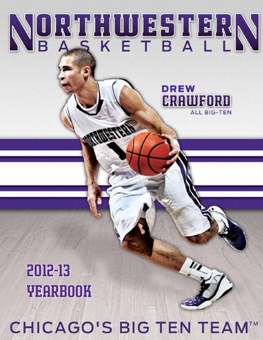 2012-13 Northwestern Men s Basketball Yearbook by Northwestern ... f4e308a38