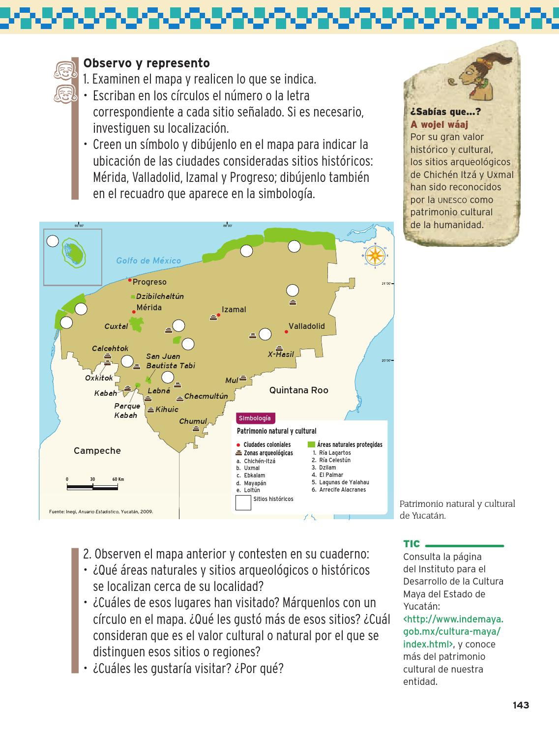 Ubicacion De Los Simbolos Naturales En El Mapa De Venezuela | la entidad donde vivo yucatan by rar 225 muri issuu
