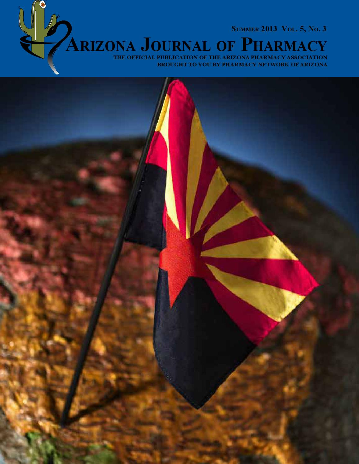 Ajp Summer 2013 By Arizona Pharmacy Association Issuu Kevin And Kris Backpack 653b Red