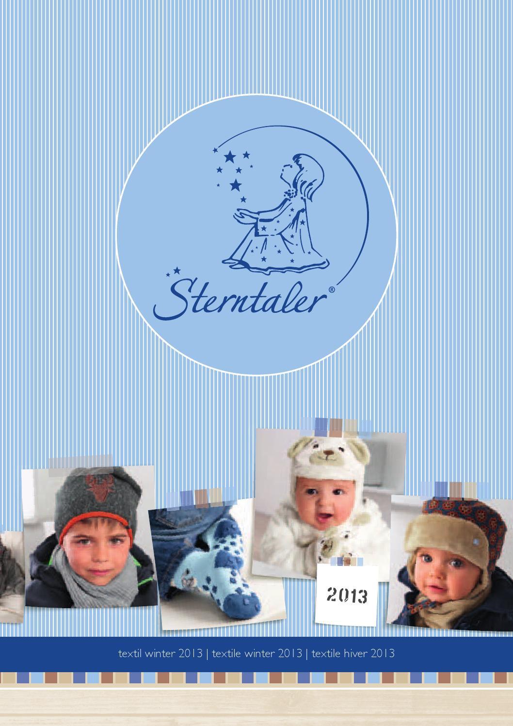 Blau Sterntaler Kapuzen-Bademantel Stanley Alter: 6-9 Monate Gr/ö/ße: 74//80