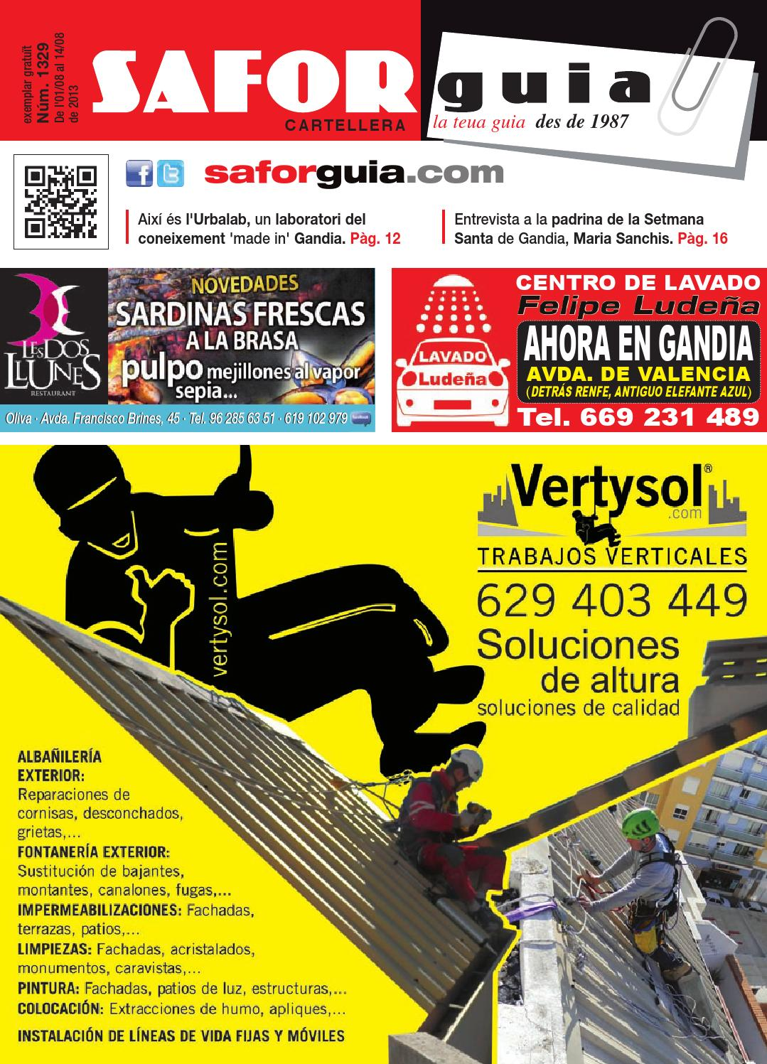 Publicaci N Del 1 Al 18 De Agosto De 2013 By Saforguia  # Muebles Peiro Quart De Poblet