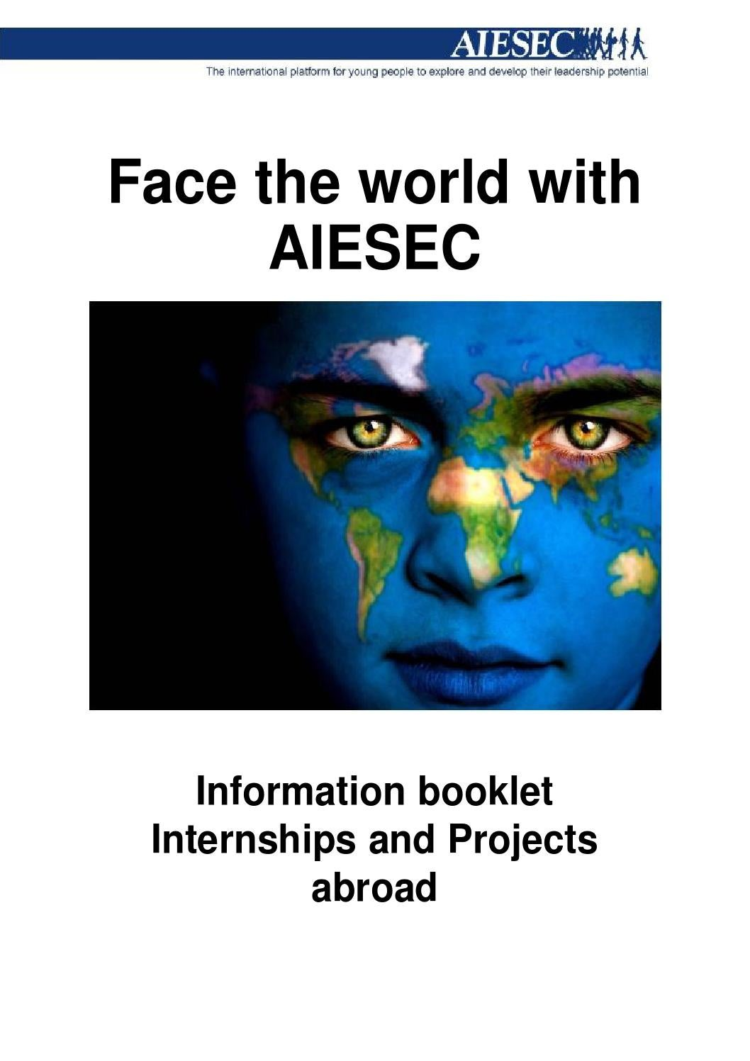 Aiesec Hannover aiesec info bookletaiesec tilburg - issuu