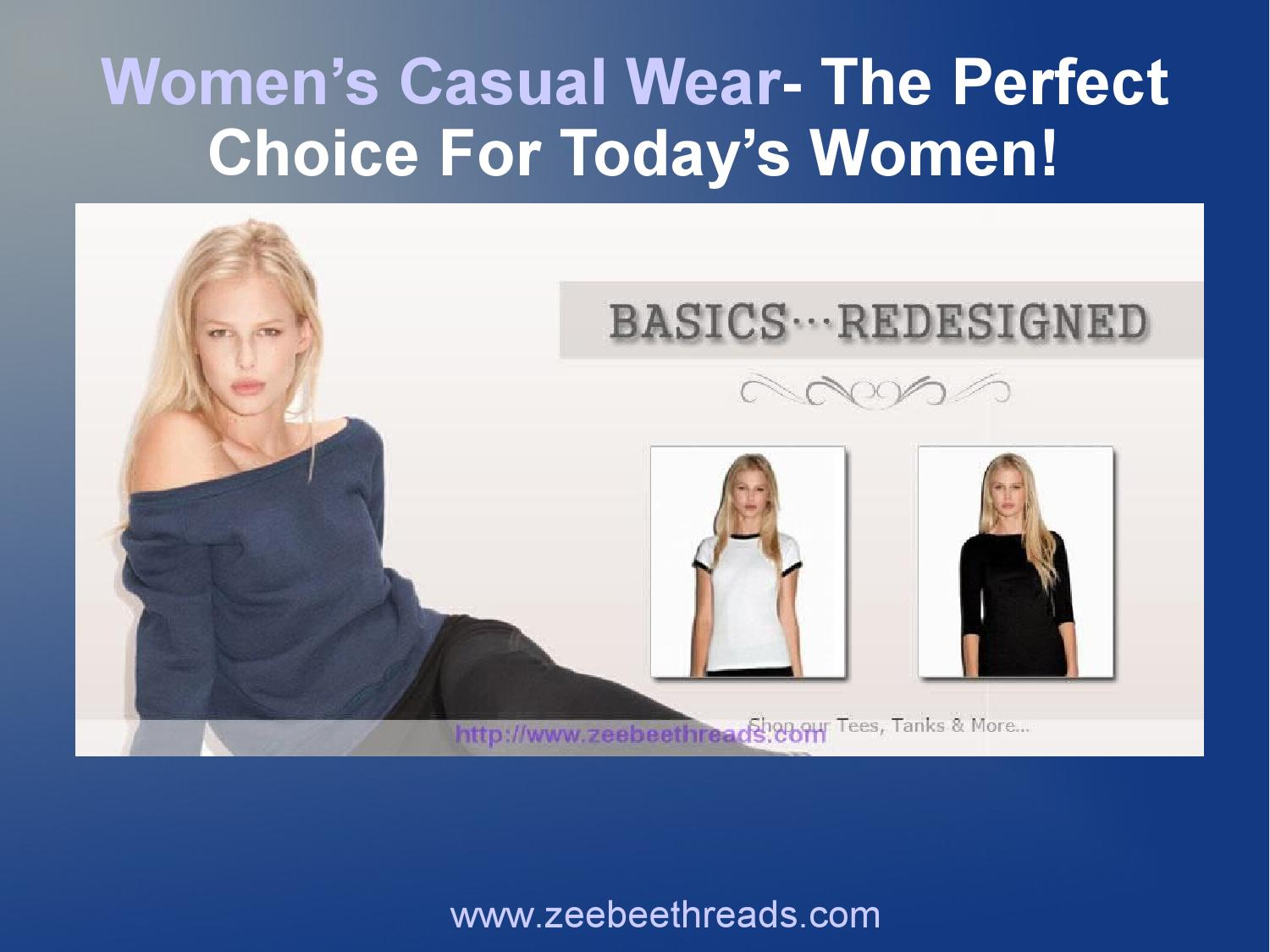 367043014 Women s casual wear the perfect choice for today s women by ...