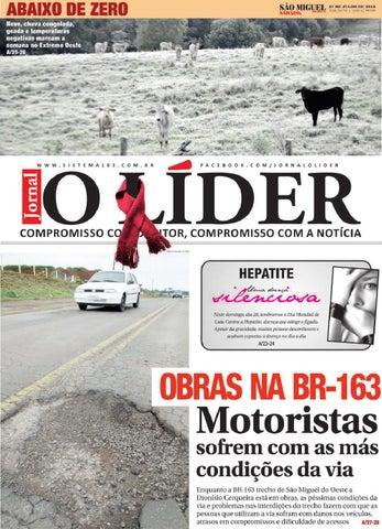O lider smo 27 07 2013 by Jornal O Líder - São Miguel do Oeste e ... c6db6796f5e