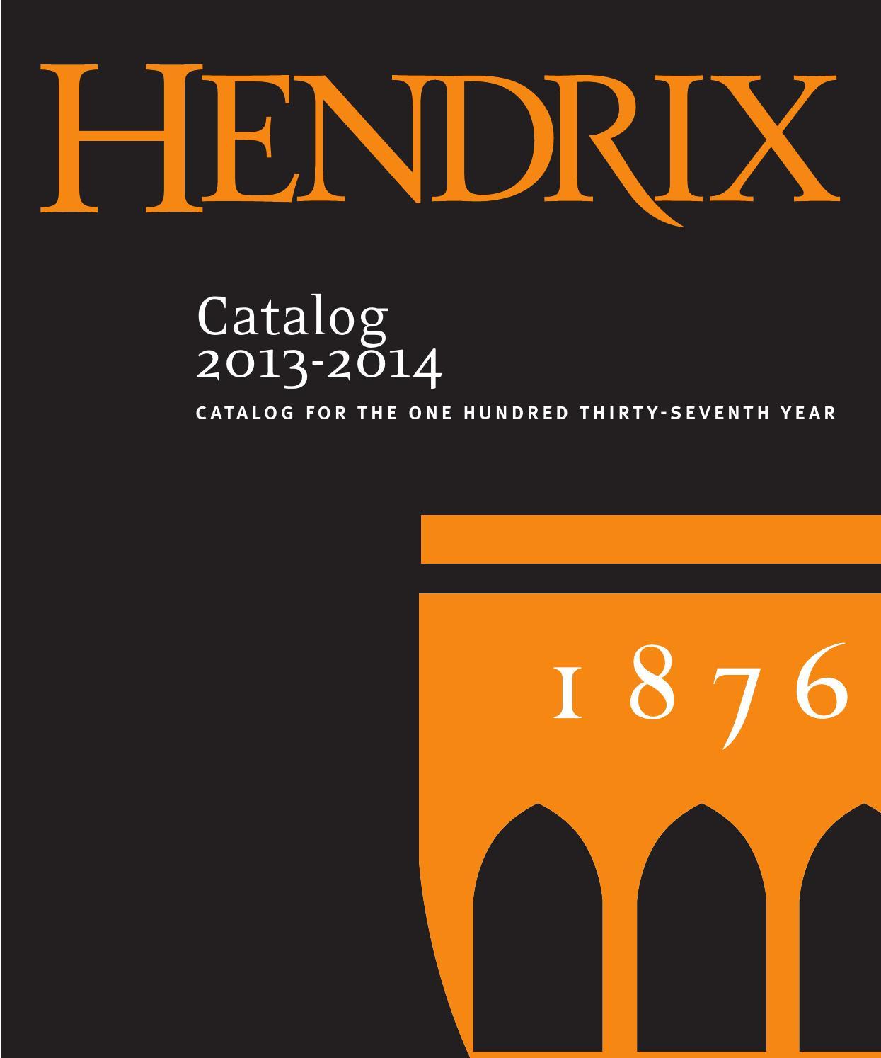Hendrix catalog 2013 2014 by hendrix college issuu fandeluxe Image collections