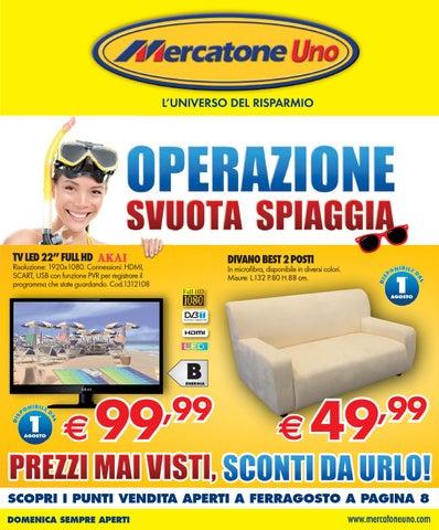 Mercatoneuno volantino 1 31agosto2013 by for Scarpiere mercatone uno