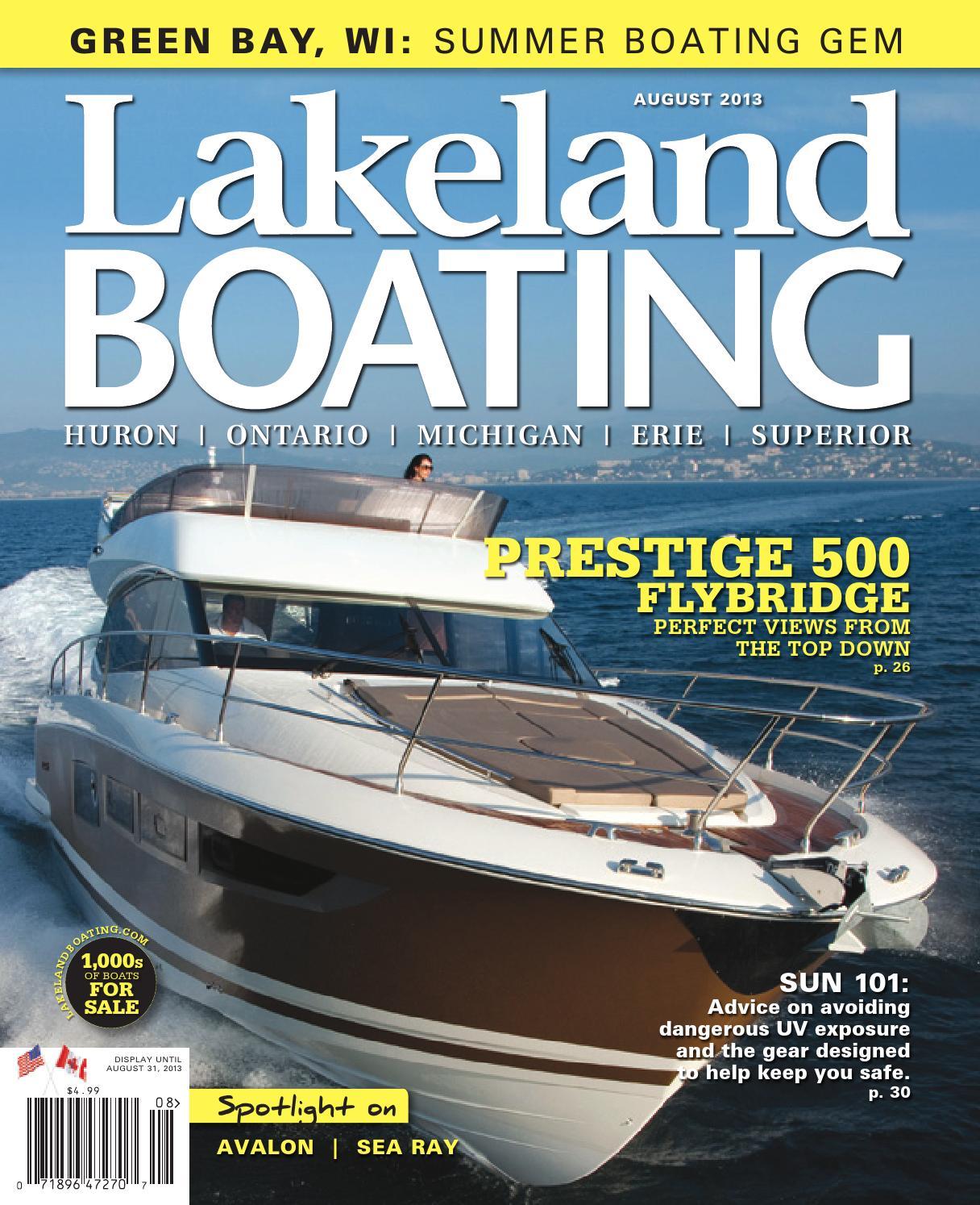 Lakeland Boating August 2013 by Lakeland Boating Magazine - issuu