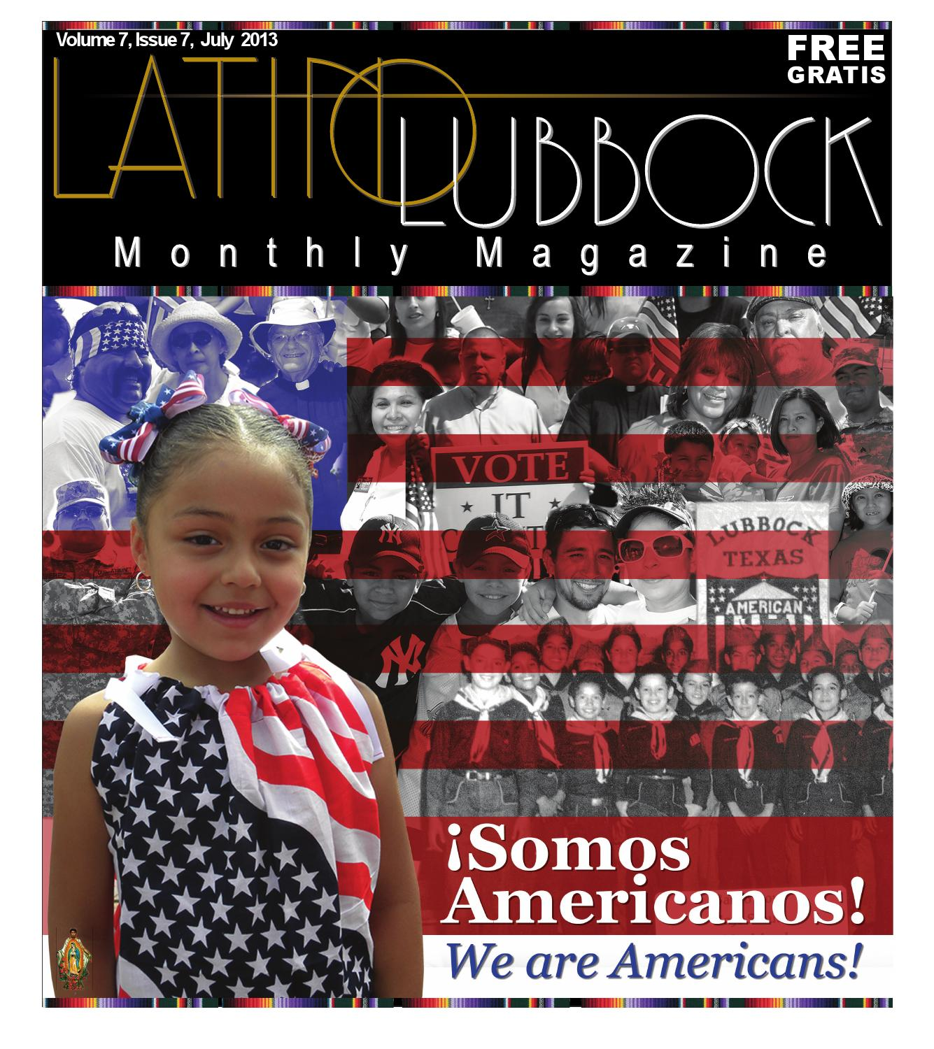July Latino Lubbock Vol 7 Issue 7 Color Copy Web By Christy  # Muebles Sauceda