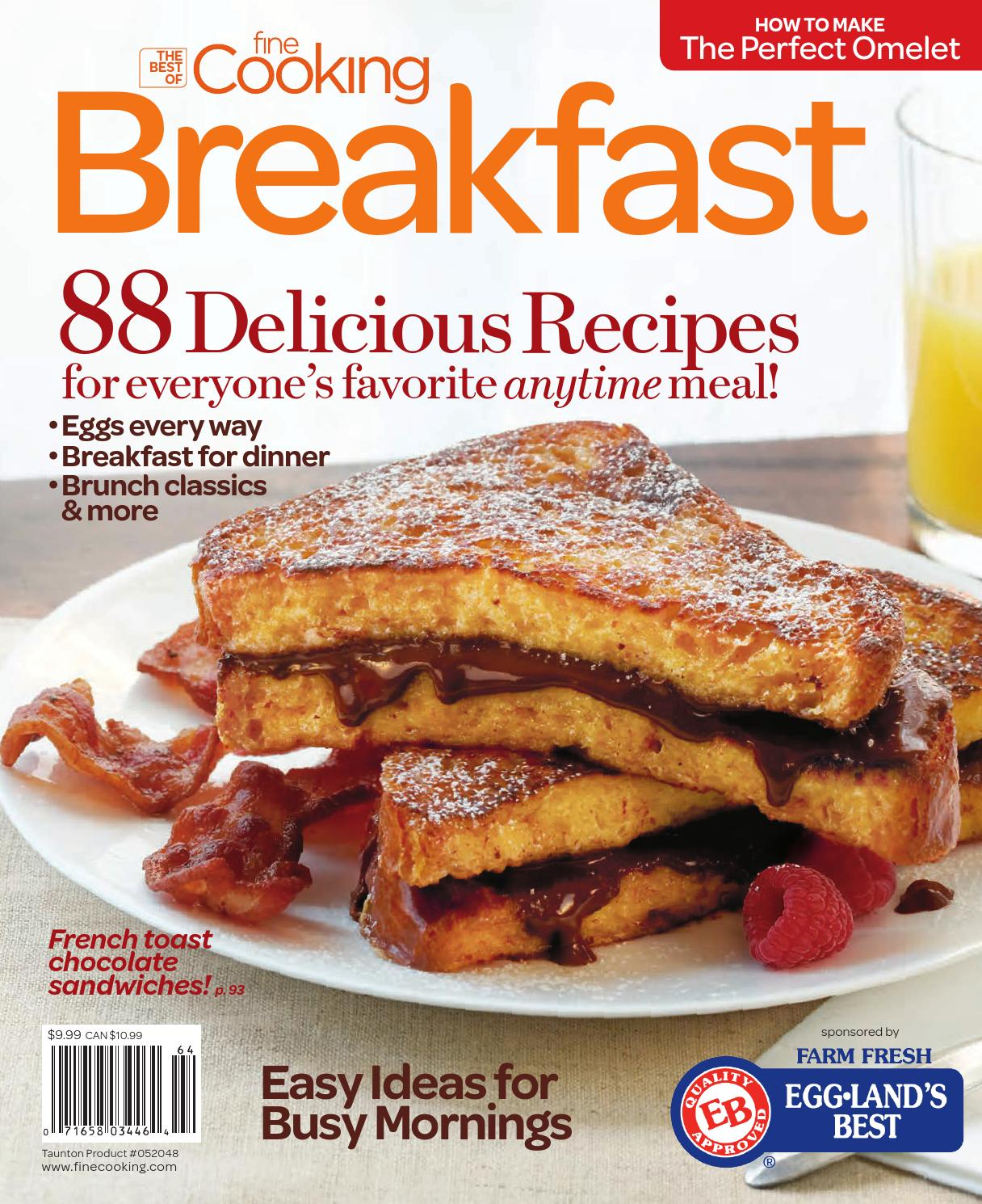 How To Make A Book Quick : Finecooking breakfast by i b green issuu