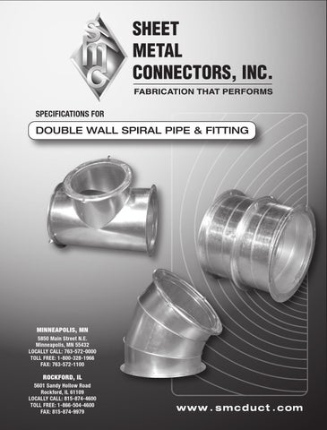 Double Wall Spiral Pipe And Fitting By Gasman Design Issuu