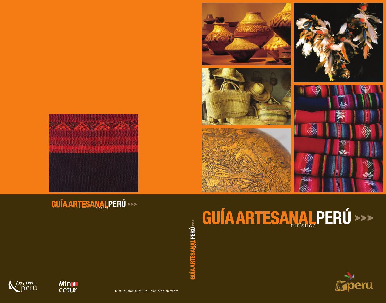 Guía de artesanía peruana by Russell Herberth Huaman Bautista - issuu ee3c573f6ab
