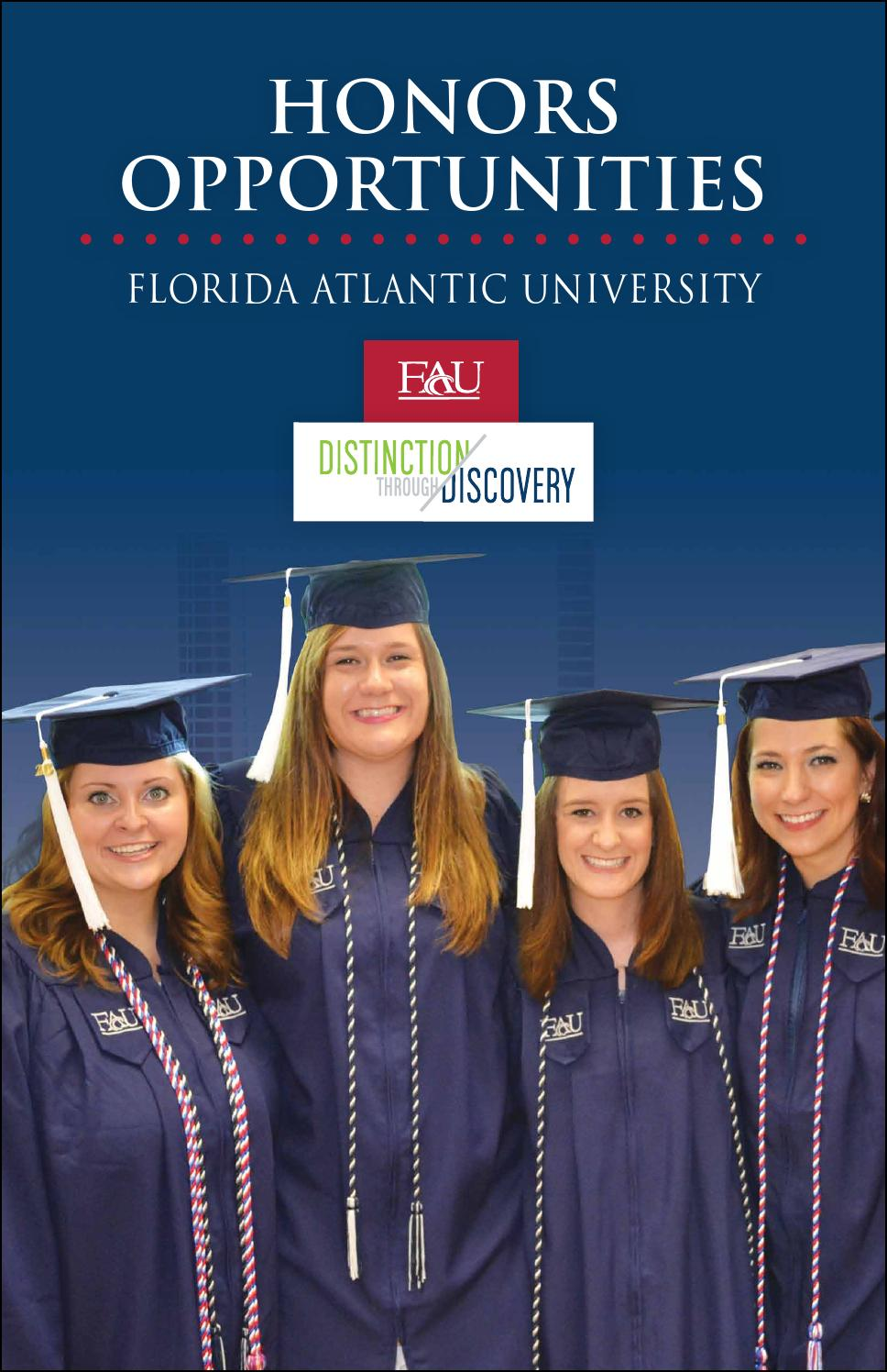 Honors Opportunities by Florida Atlantic University Office ...