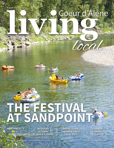 August 2013 Coeur D Alene Living Local By Living Local 360