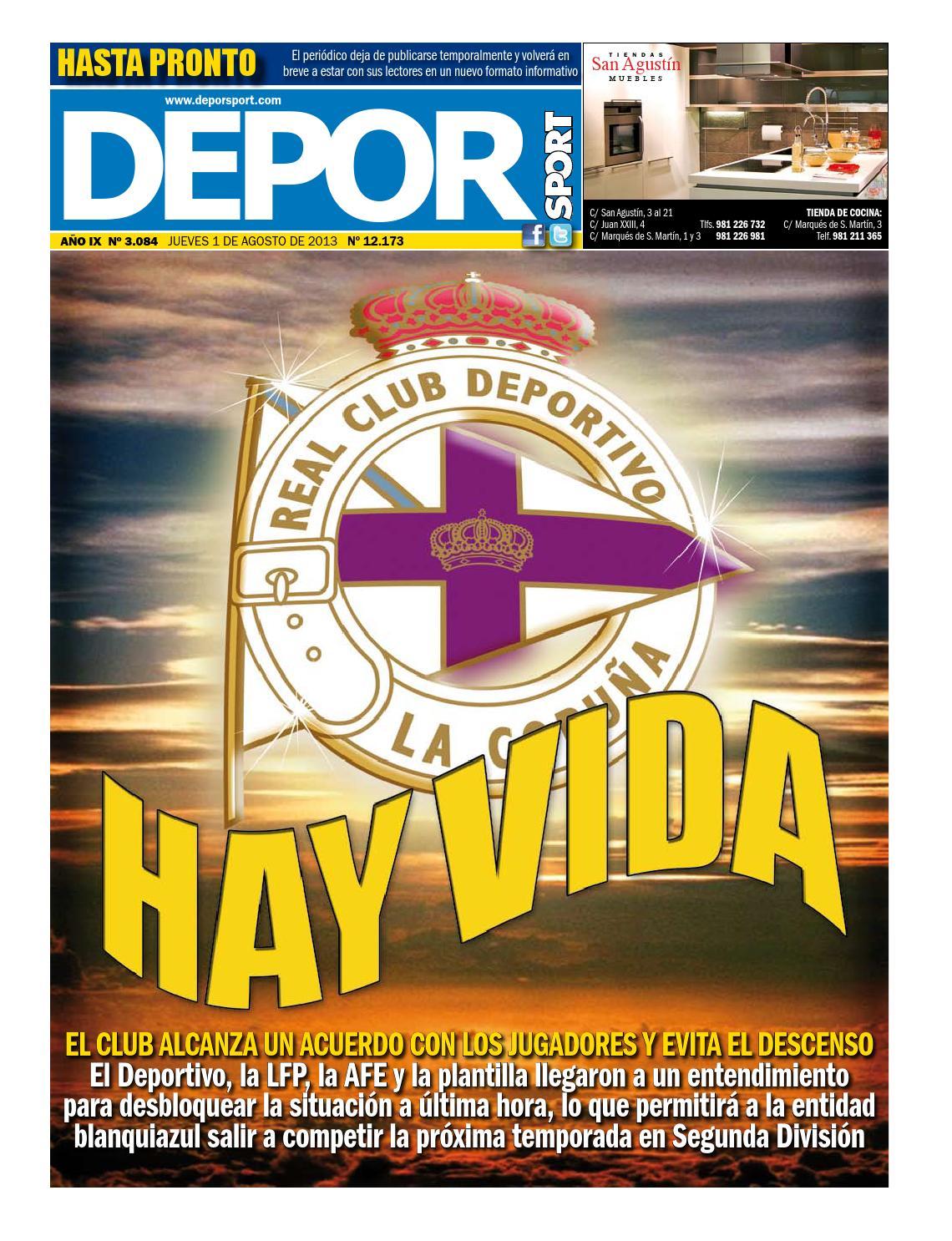 Deporsport-01-08-2013 by DEPOR Sport - issuu