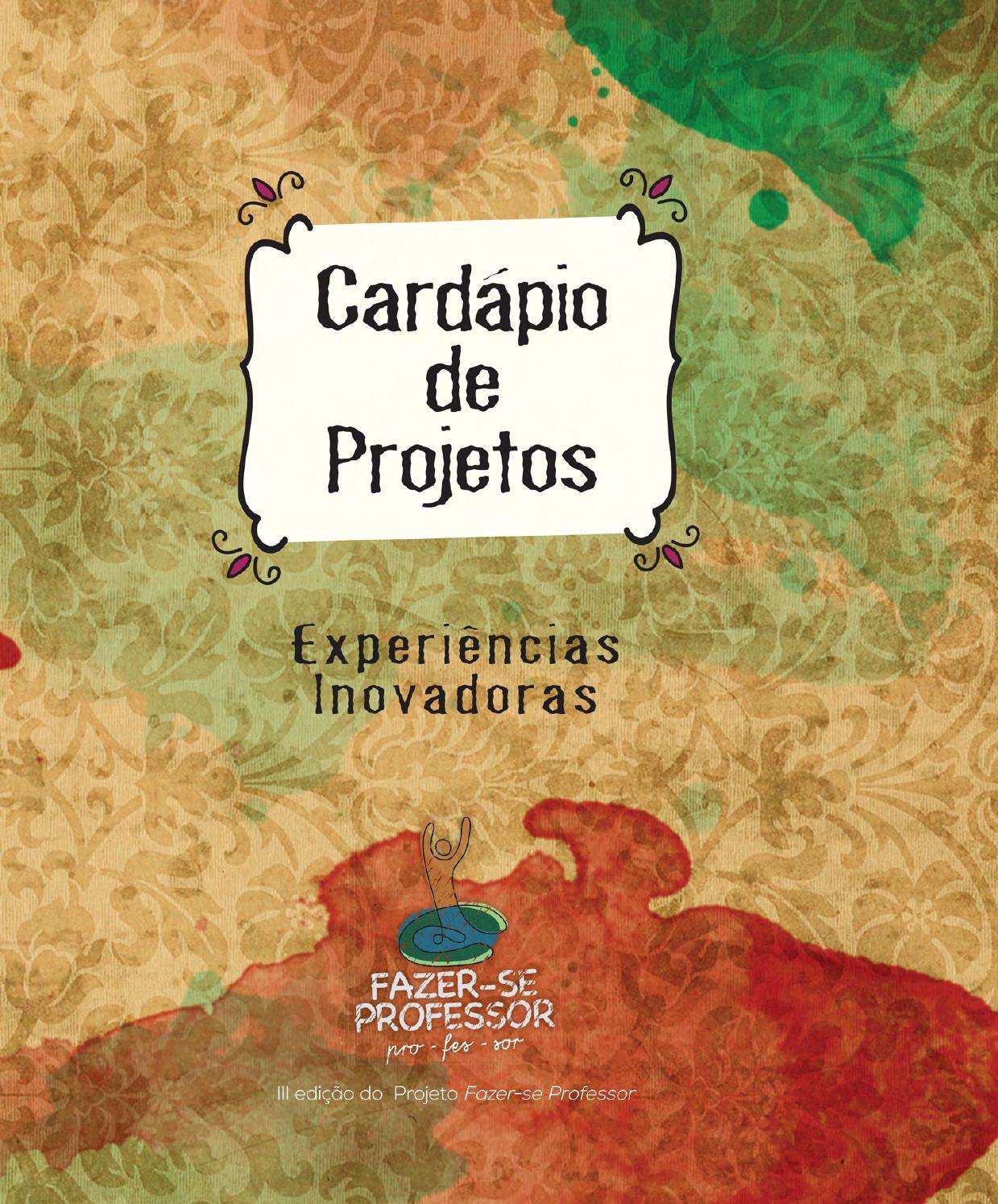 1d19089e421 Cardápio de Projetos by Victor Marx - issuu