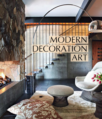 Page 1. MODERN DECORATION ART