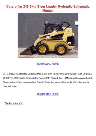 caterpillar skid steer serial number search