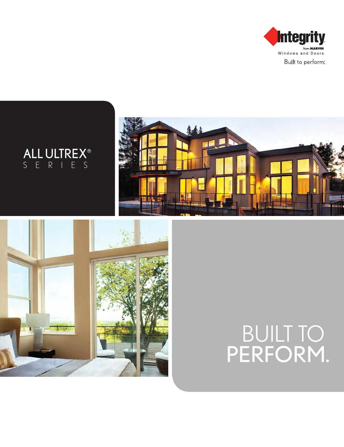 Integrity all ultrex specification options catalog by for Marvin integrity all ultrex