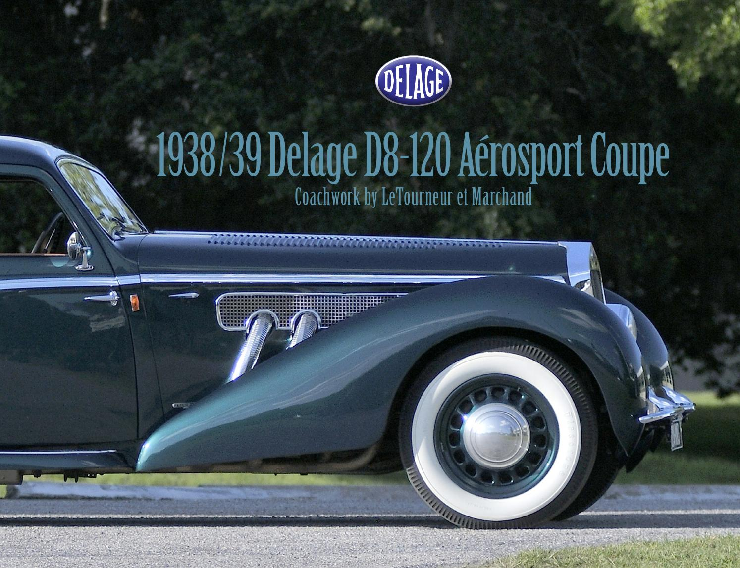 1938 39 delage d8 120 a rosport coupe by mecum auctions issuu. Black Bedroom Furniture Sets. Home Design Ideas