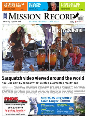 Mission City Record, August 01, 2013 by Black Press Media