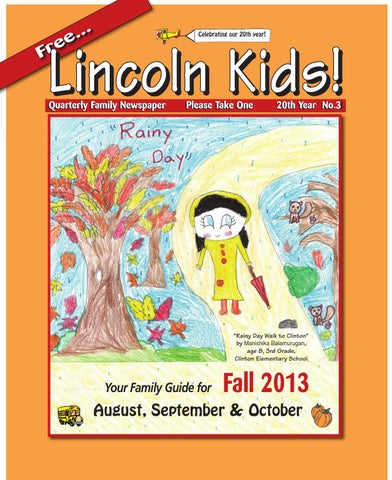 Lincoln kids newspaper fall 2013 by lincoln kids newspaper issuu page 1 fandeluxe Choice Image