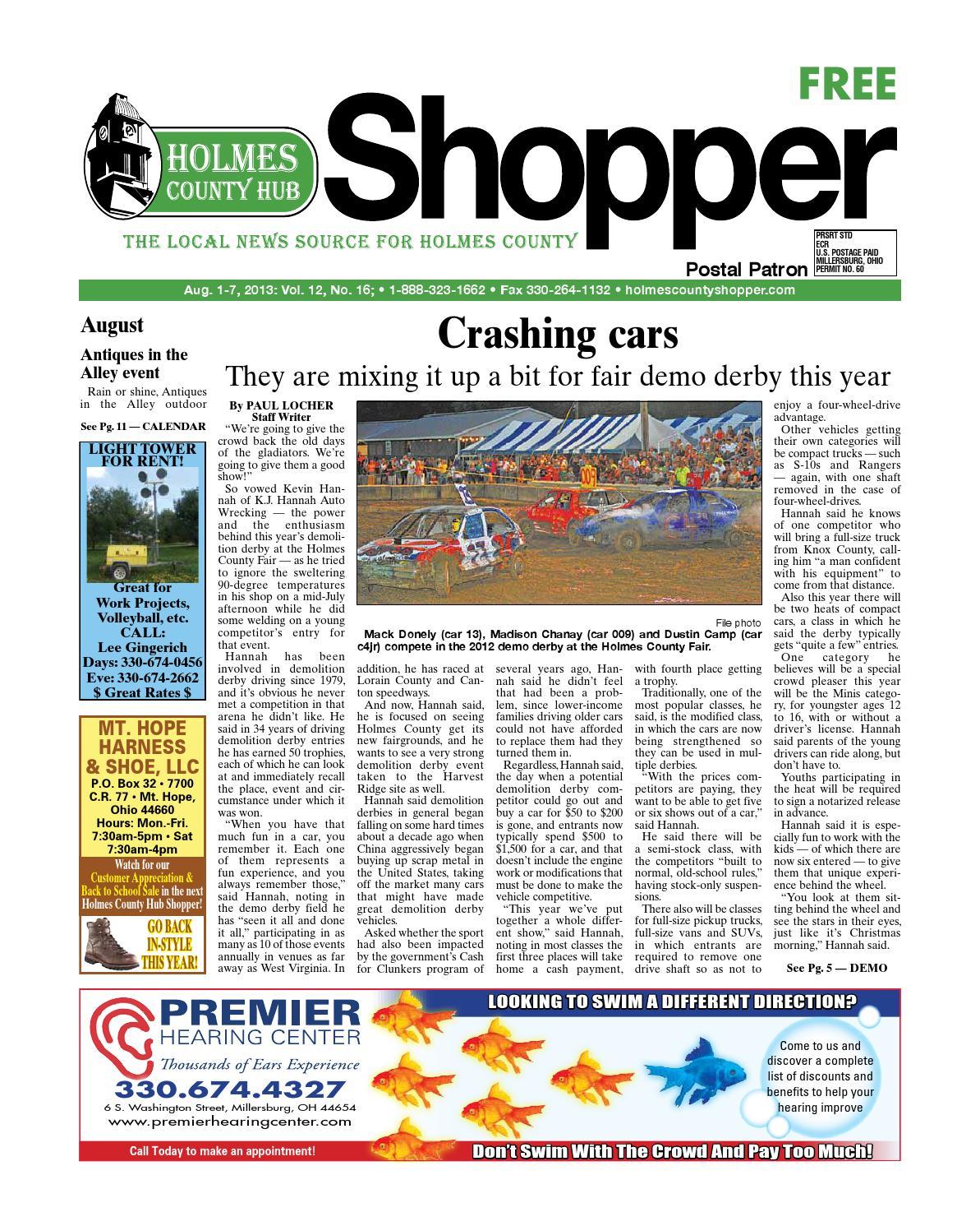 Holmes county hub shopper aug 1 2013 by gatehouse media neo issuu fandeluxe Gallery