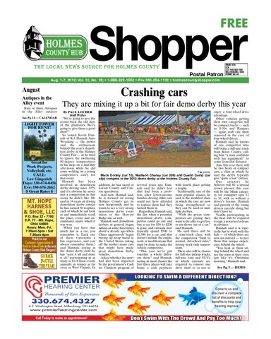 Holmes county hub shopper aug 1 2013 by gatehouse media neo issuu page 1 fandeluxe Images