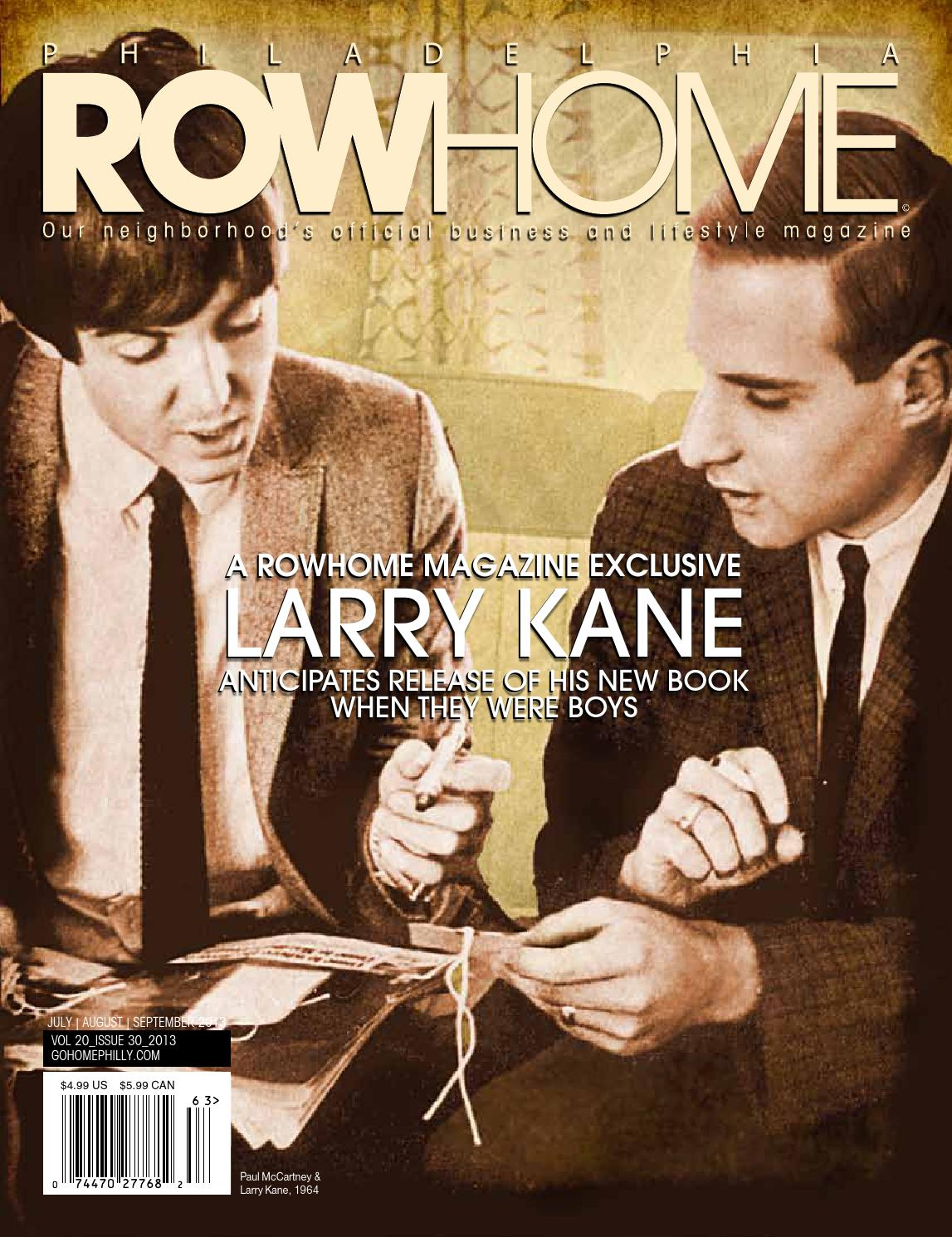 c74ca085511 PRH Exclusive Larry Kane Edition by Philadelphia RowHome Magazine ...