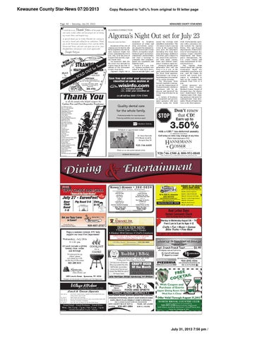 Advertiser august2013 set3 by Wisconsin Newspaper