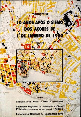 Monografia 10 anos após o sismo de 1 01 1980 volume ii red by ... 418f120dbd