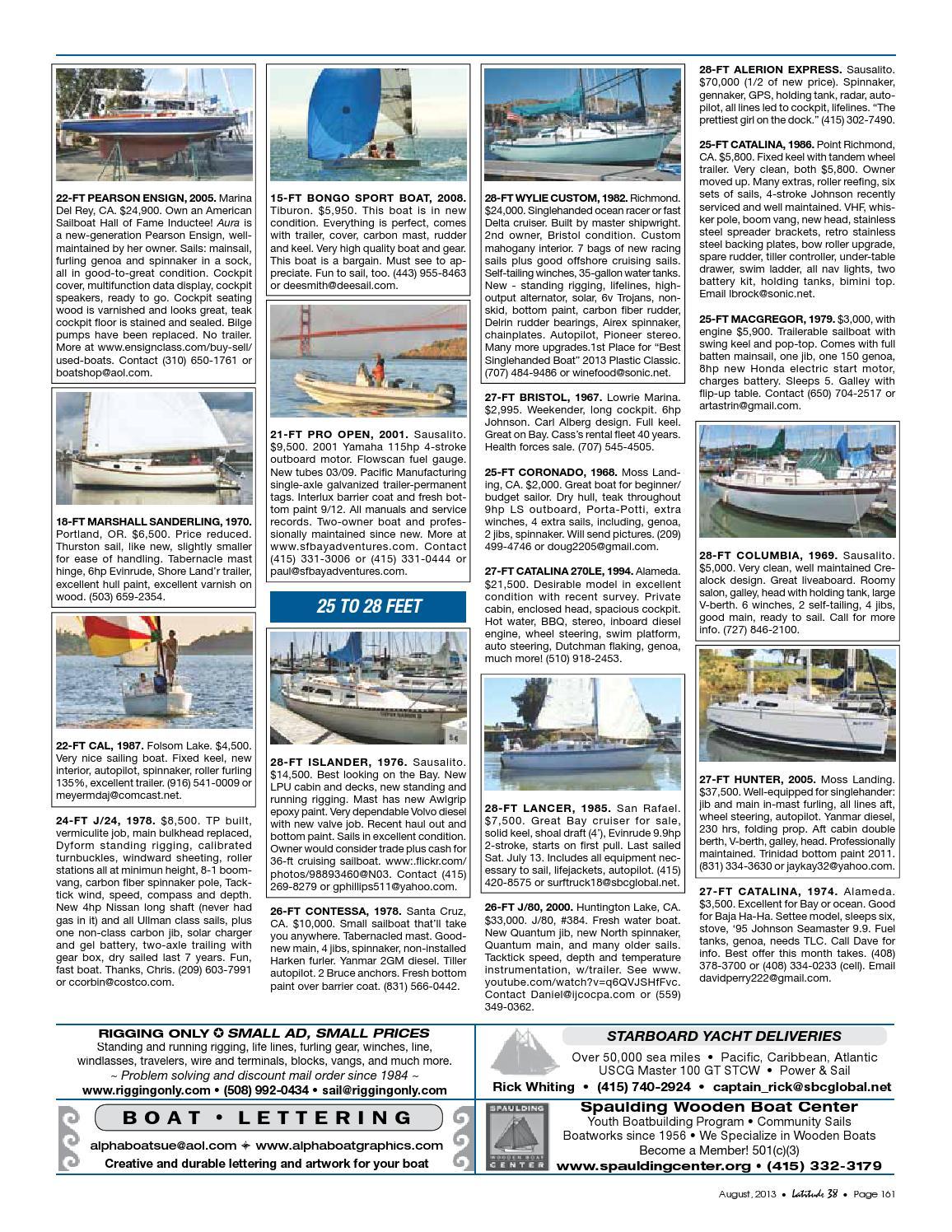 Latitude 38 August 2013 by Latitude 38 Media, LLC - issuu
