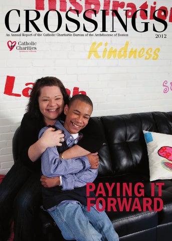 Catholic Charities 2012 Annual Report By Catholic Charities Of