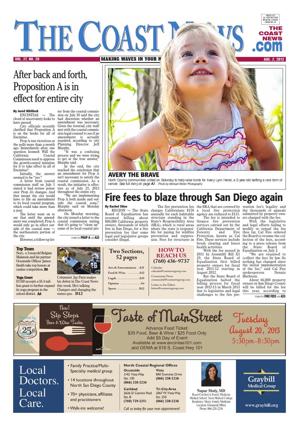 ad047c4e3 The coast news 2013 08 02 by Coast News Group - issuu