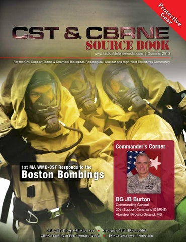 CST CBRNE Source Book Summer 2013 By Tactical Defense Media