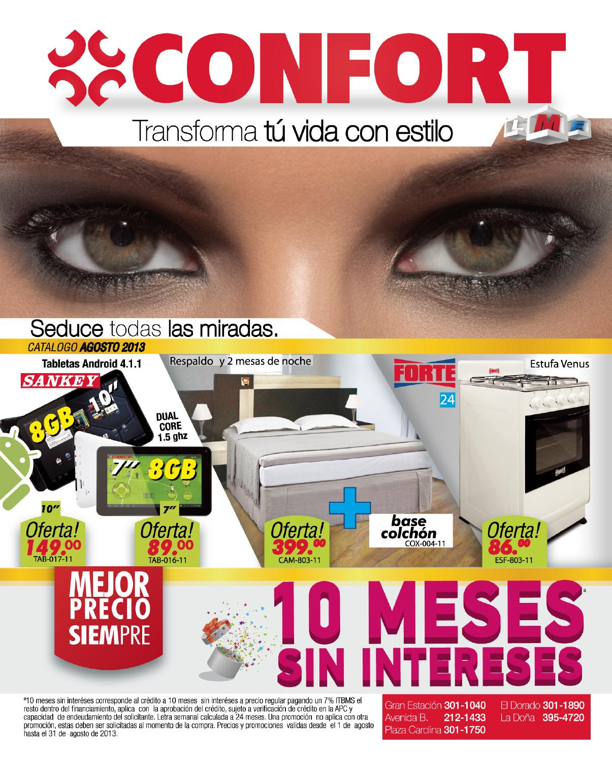 casa confort catalogo agosto 2013 by casa confort issuu
