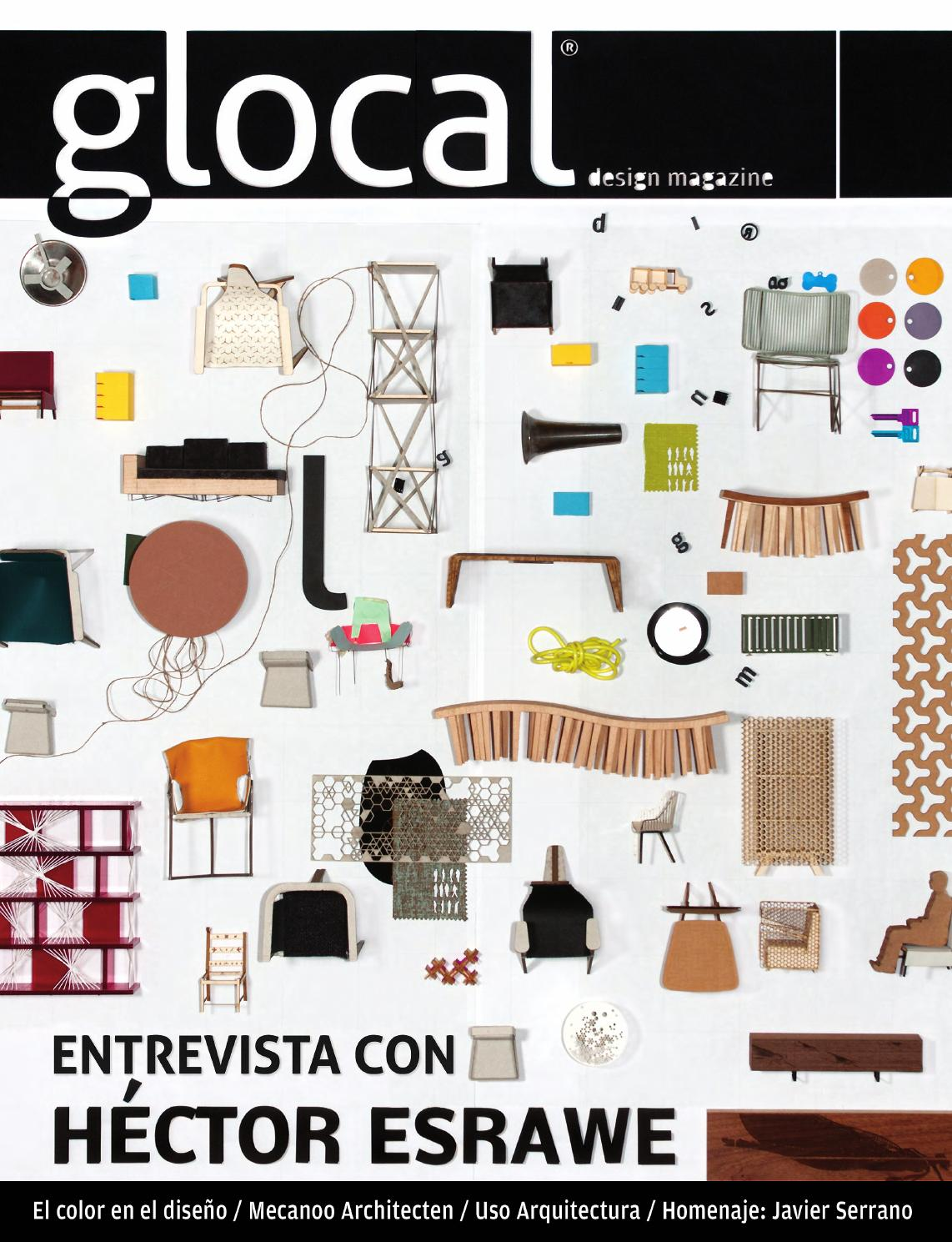 GLOCAL DESIGN MAGAZINE No.5 Portada por / Cover by: HECTOR ESRAWE by ...