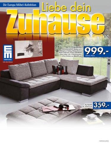 Die Europa Möbel Kollektion