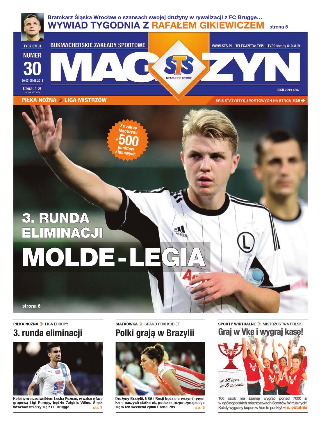 c5d8d466395cd0 Magazyn STS nr 30 by Star-Typ Sport - issuu