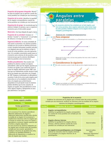 Maestro. Matemáticas 2o. Grado Volumen I by Rarámuri - issuu