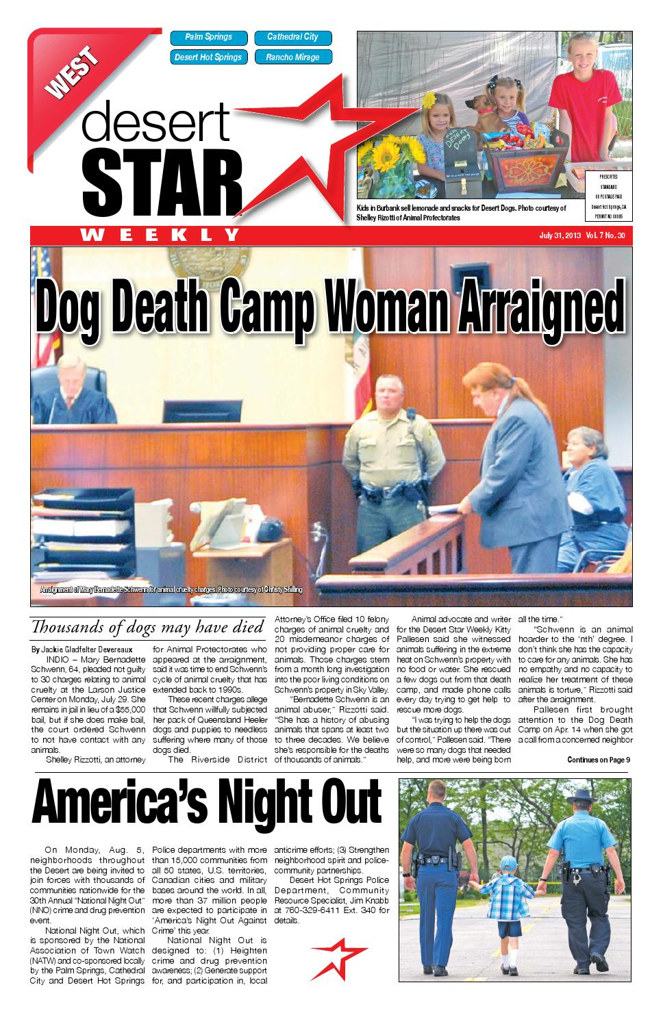 Dstarweekly july 31 2013 print dina final 6pm web by The Desert Star Weekly  - issuu 7a14f2df7