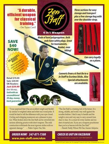 Official Karate Magazine summer 2013 by OfficialKarateMag