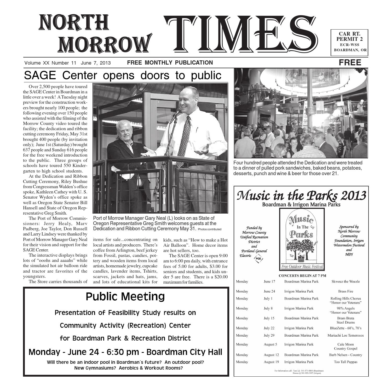 nmt june 2013 by north morrow times issuu