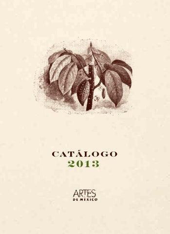 Catlogo 2013 By Artes De Mxico Issuu