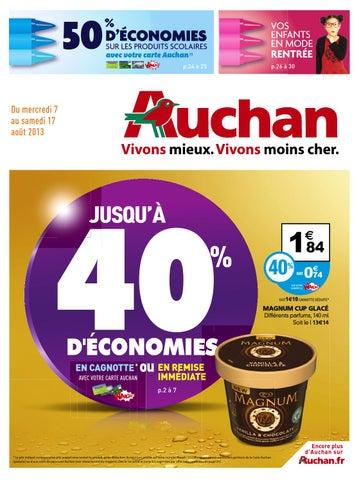 Catalogue Auchan 7 17 08 2013 By Joe Monroe Issuu