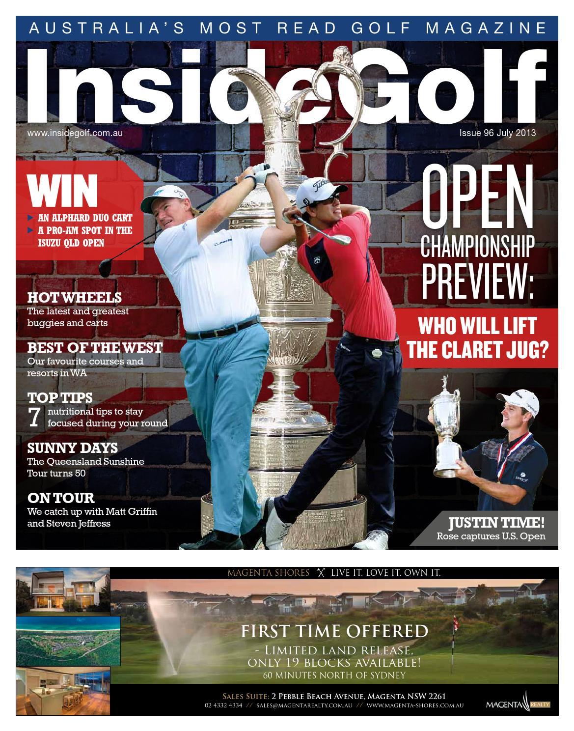 Inside Golf Issue 96 By Issuu Brian Ellul Blog Airx New Controller