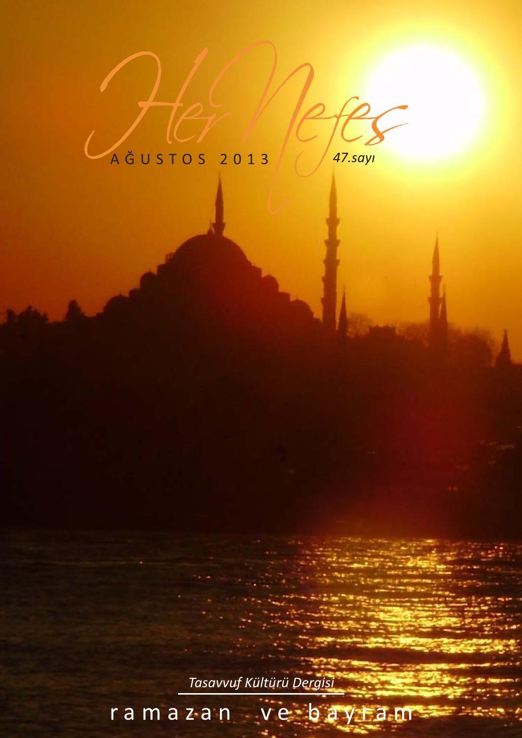 Her Nefes Agustos 2013 Ramazan Ve Bayram By Nefes Yayinevi Issuu