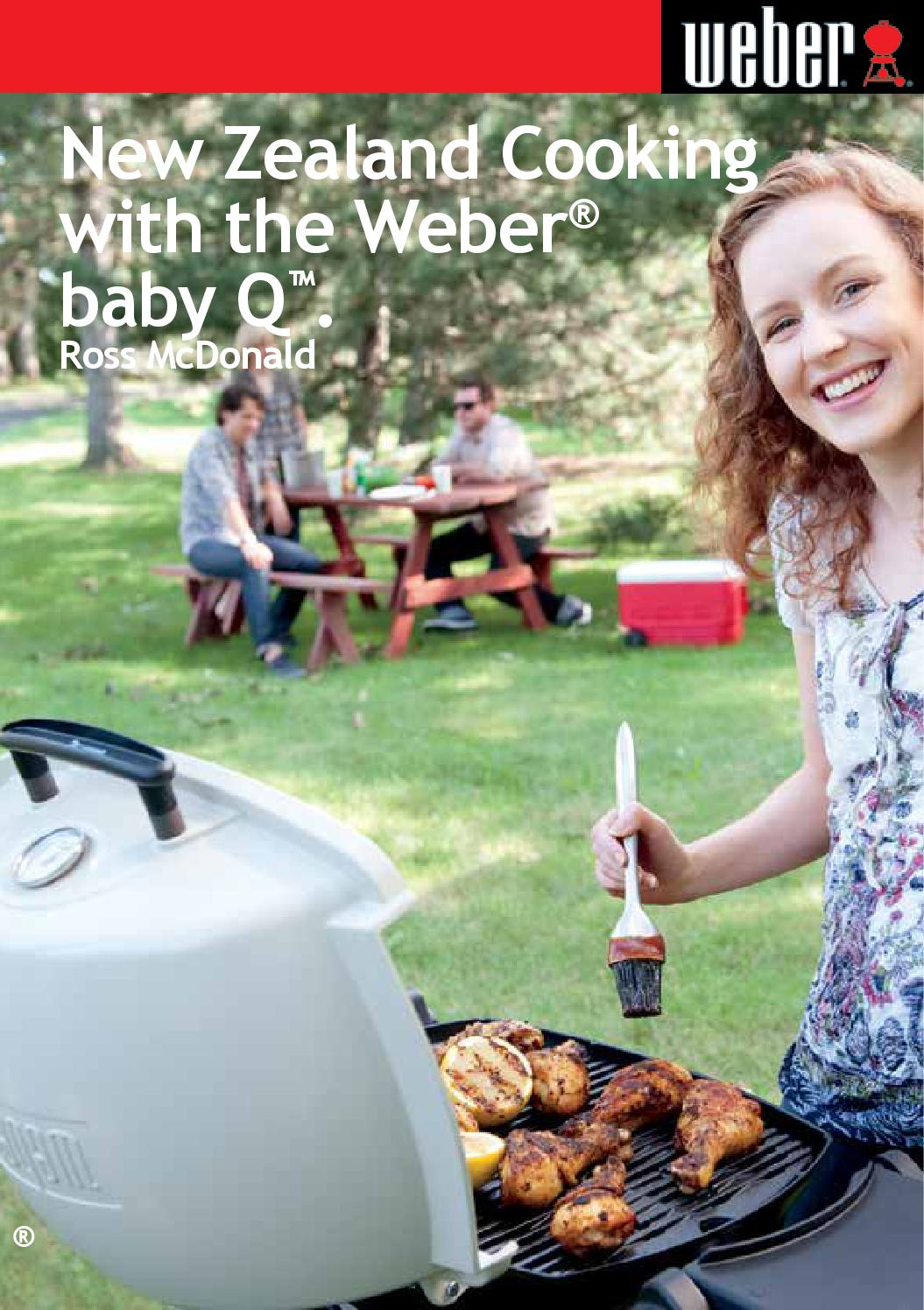 New Zealand Cooking With The Weber Baby Q Q100e By R Mcdonald Trivet Barbeque Issuu